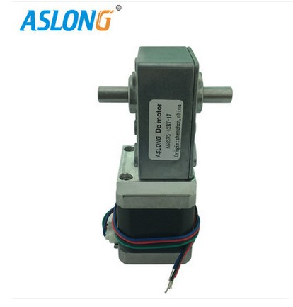 A58SW-42BYS 4-wire dual output shaft stepper gear motor DC stepper gear motor 12V 24V merry christmas chillies seafood pizza print round beach throw