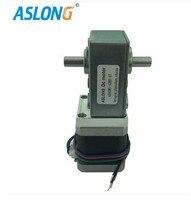 Nema17 4 wire dual output shaft stepper gear motor DC stepper gear motor 12V 24V