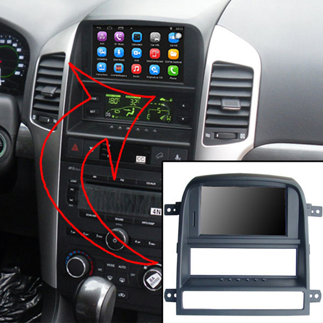 6 2 Inch Android Car Gps Navigation For Chevrolet Captiva