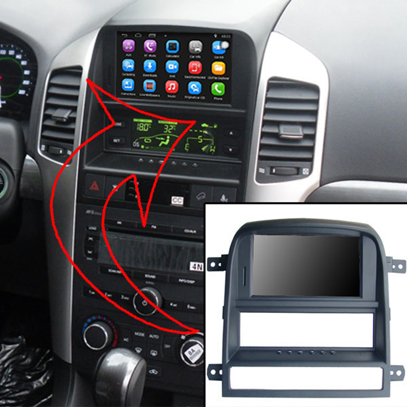 6.2 inch Android 7.1 Car GPS Navigation for Chevrolet Captiva 2008 2011 Car Video Player Support WiFi Bluetooth Mirror link
