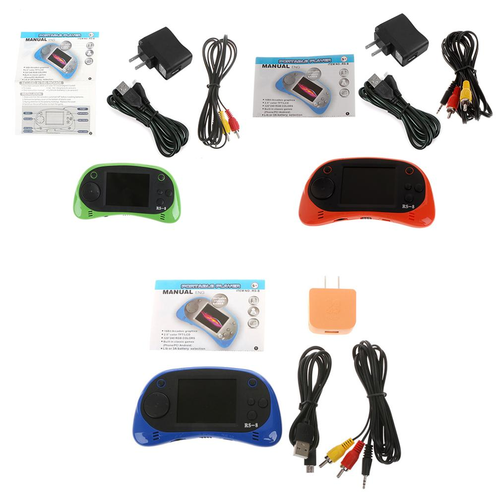 """2.5"""" TFT Display Handheld Game Player Built-In 260 Classic Video Game Console"""