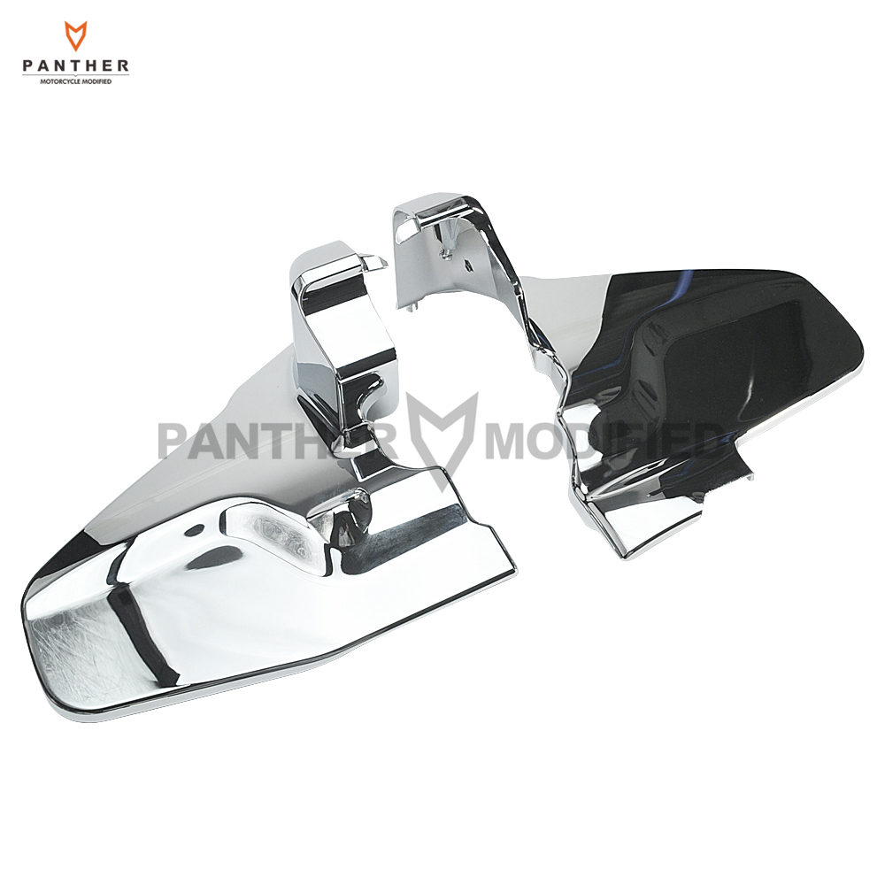 1 Pair Chrome Motorcycle Engine Frame Cover Moto Engine Side Protection case for Honda Goldwing GL1800 2012 2013 2014 2015 motorcycle engine case cover set engine cover kit protection fit cbr1000 2008 2015
