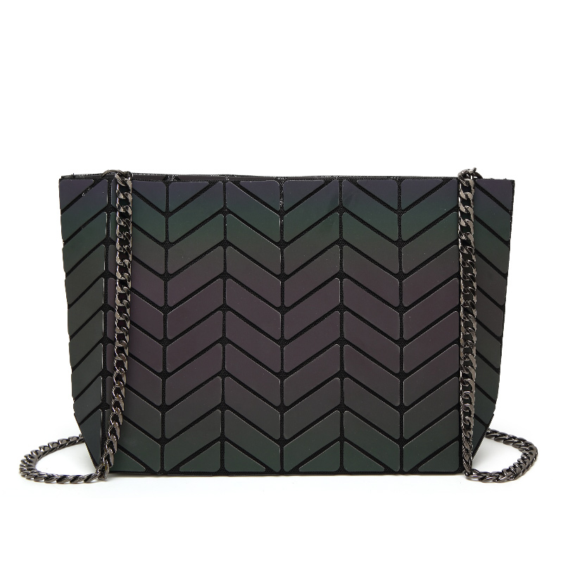 ФОТО 2017 New Fashion Women BAOBAO Bags Luminous Geometry Package Luxury Baobao Bag Chain Ladies Messenger Bags Famous Brands Bags