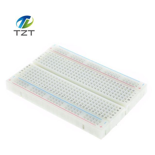 1pcs Quality mini bread board / breadboard 8.5CM x 5.5CM 400 holes