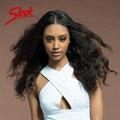 Sleek Long Wave Human Hair Wigs,  Brazilian Virgin Hair Loose Wave 17 Inch Color 2# Lace Wig In Stock