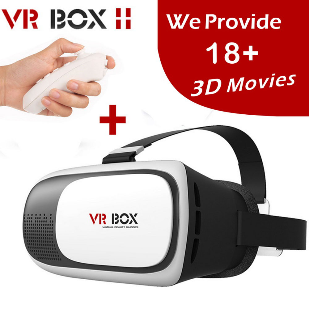 2016 <font><b>VR</b></font> <font><b>BOX</b></font> II <font><b>2.0</b></font> <font><b>VR</b></font> Virtual Reality 3D <font><b>Glasses</b></font> Helmet Google Cardboard <font><b>Headset</b></font> Version <font><b>for</b></font> 4.0 - 6.0 inch Smart Phone <font><b>iPhone</b></font>