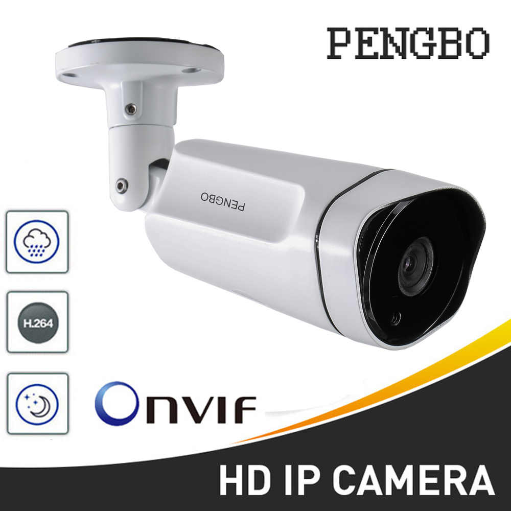 HD 1080P Waterdichte IP Camera 2.0MP/4.0MP Outdoor Camera Bullet security camera ONVIF met POE