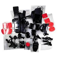 GoPro Accessories Kit For Go Pro SJCAM SJ4000 SJ5000 SJ7000 Action Camera Accessories Set Package For Hero 1 2 3 3+ 4 5 Xiao Mi