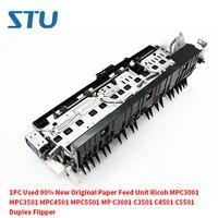 1 PC Usado 90% Novo Original Da Unidade de Alimentação de Papel Ricoh MPC3001 MPC3501 MPC4501 MPC5501 MP C3001 C3501 C4501 C5501 Duplex flipper|Peças de impressora| |  -