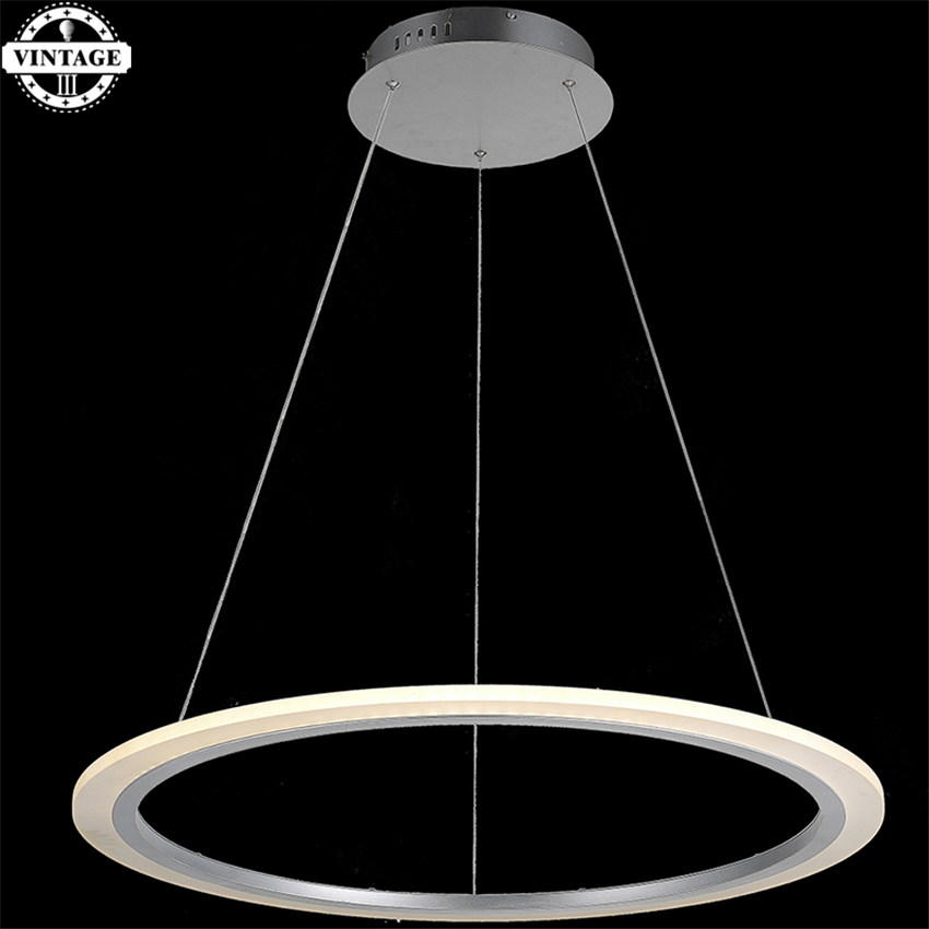 Latest Modern dimming Single Ring LED round circle pendant light acrylic 110-240V LED Lighting Decoration with remote control 2015 brief modern fashion circle pendant lights voltage 220 240v