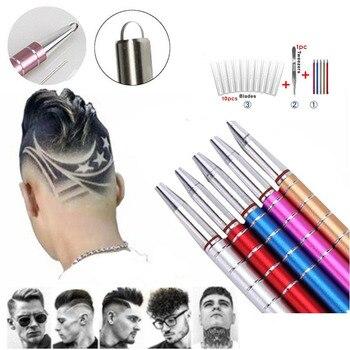 Επαγγελματικό στυλό χάραξης σχεδίων μαλλιά γενειάδα φρύδια