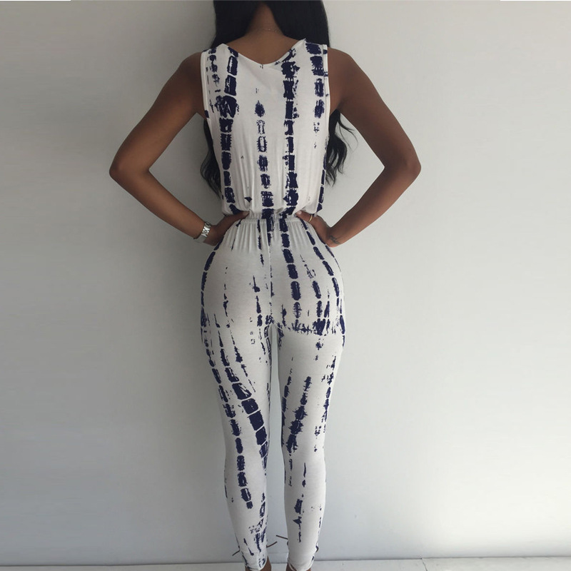 2018 Women Ladies Sleeveless Jumpsuit Romper Trousers Bodycon Clubwear Party Playsuit