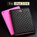 Luxury PU Magnetic Leather case cover capa para For ipad 2 Stand Case For IPAD2 IPAD3 IPAD4 Tablet PC