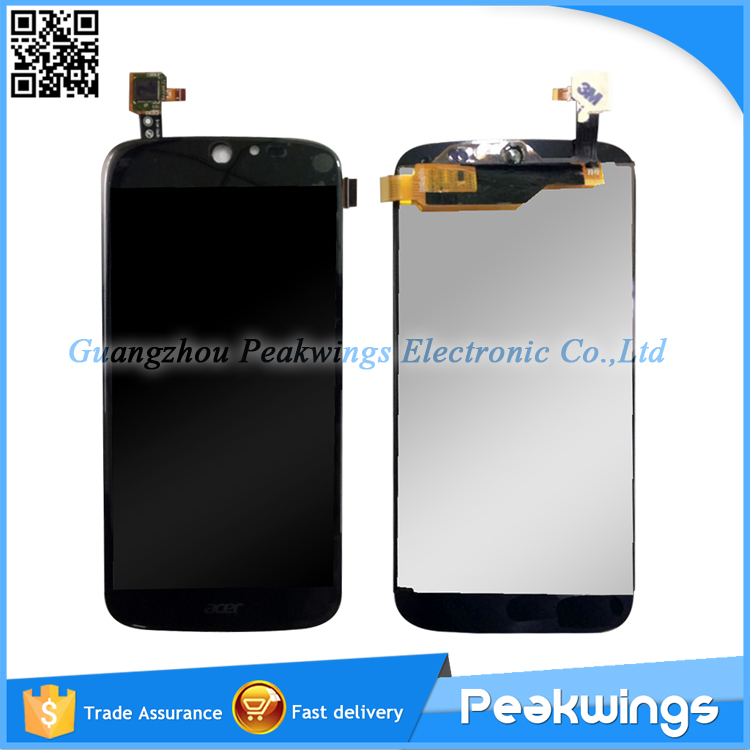 For Acer Liquid Jade S55 LCD Display+Digitizer Panel Screen Assembly Free Shipping for acer liquid jade s55 lcd screen with