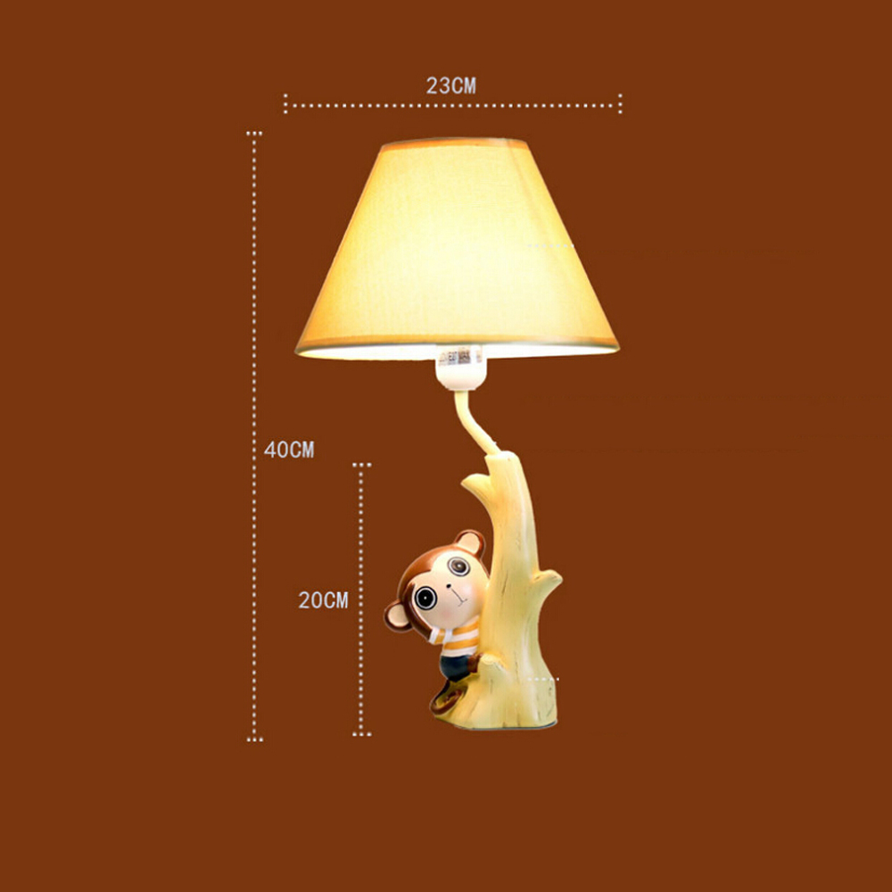 Aliexpress buy meng monkey children room desk lamp 220v in aliexpress buy meng monkey children room desk lamp 220v in led desk e14 led table lamp child switch button led lamp table reading bed light from geotapseo Gallery