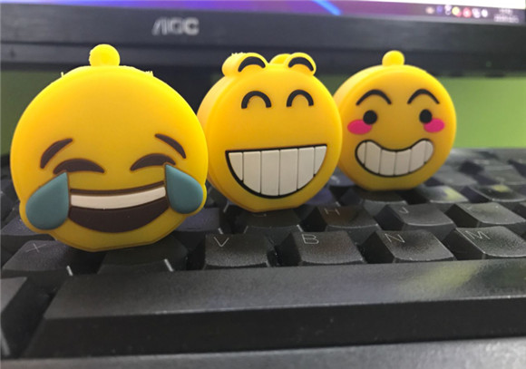 new arrive USB stick emotion expression memory Stickusb 2.0 Emoji External USB flash drive 1gb-64gb Pendrive U Disk 3155