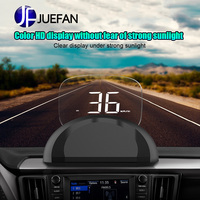 JUEFAN C700s look up display car display obd hud car universal speed HD projection