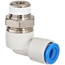 JAPAN Rotary On-touch Fittings KSL08-02S (standard) 8mm R1/4 004 12 to 8mm one touch push in straight union fittings