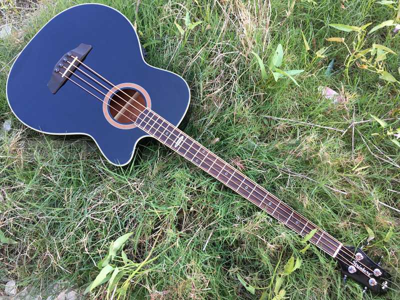 Quality Electric Guitar Brands : high quality black color strinber acoustic electric bass guitar with brand tuner in guitar from ~ Hamham.info Haus und Dekorationen