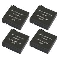 4pcs 3 85V 1400mAh For Xiaomi YI2 II YI 2 II 1400mA Rechargeable Battery For Xiaomi