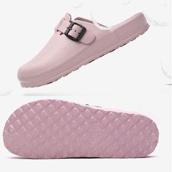 Lizeruee Summer Women Slippers Nurse Clogs Accessories Medical Footwear Orthopedic Shoes Diabetic Clog EVA Light Weight CS576 2