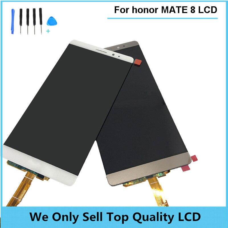 Pantalla lcd para huawei mate 8 asamblea digitalizador cristal de la pantalla tá