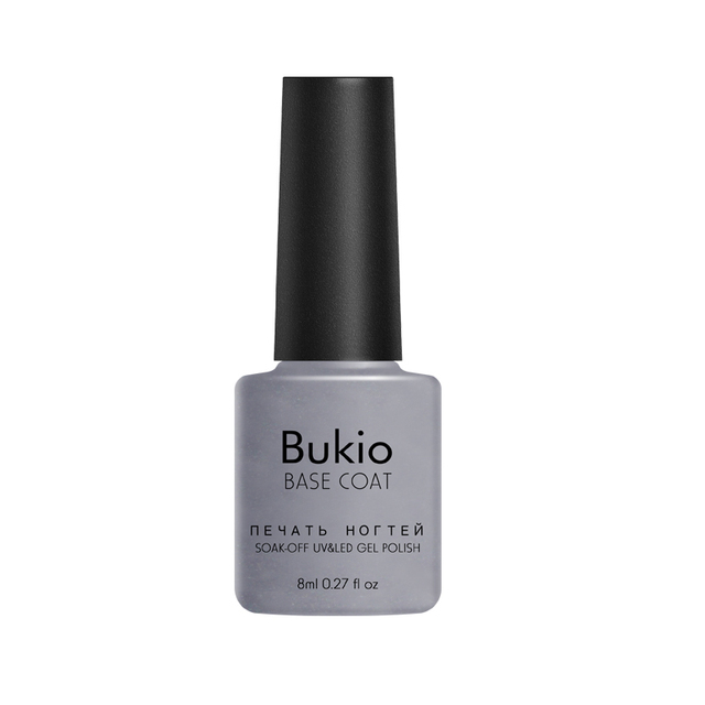 Bukio Base and Top Gel Polishing Semi Permanent Enamel Uv Led Lamp Everything for Manicure Poly Gel 8ml Acrylic Nails Supplies