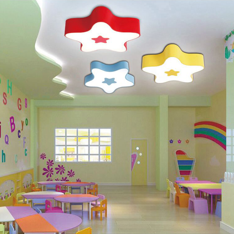 New Cute Little Rabbit Childrens Ceiling Lights Creative Modeling Lamp Energy Saving Karaoke Kinder Garten Lighting Lu810232 Lights & Lighting