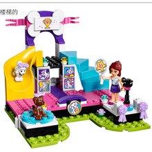 Lepin Pogo Bela 10607 Girls Friends Pet Dog Parade Models Building Blocks Bricks Action Figures Compatible Legoe Toys