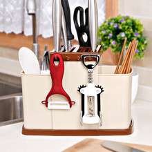 Rak pelbagai fungsi berkualiti tinggi PP plastik Rak rak dapur Peralatan dapur rak pisau dapur aksesori bilik mandi