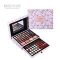 Miss rose flor marca profissional de maquiagem conjunto de cosméticos mulheres batom sombra concealer blush kits espelho compõem