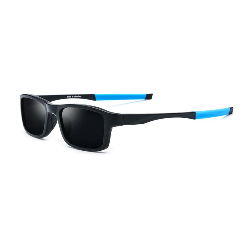 Genuine Sports Polarized Sunglasses Men colored lenses for eyes Outdoor sun glasses women TR90 super light Leg Oculos De Sol