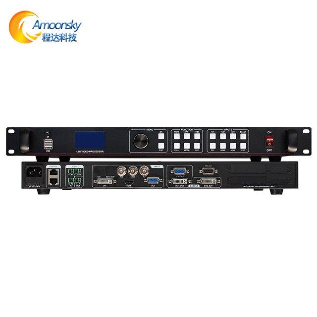 Affichage led extérieur affichage écran daffichage vidéo led processeur dimage rvb led matrice lvp613u