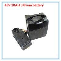 48 В 1000 Вт Ebike литиевая батарея 48 В 20ah 48 В Велосипедный Спорт батарея использование 3.7 В 2200 мАч 18650 ячеек 30A BMS 54.6 В 2A зарядное устройство