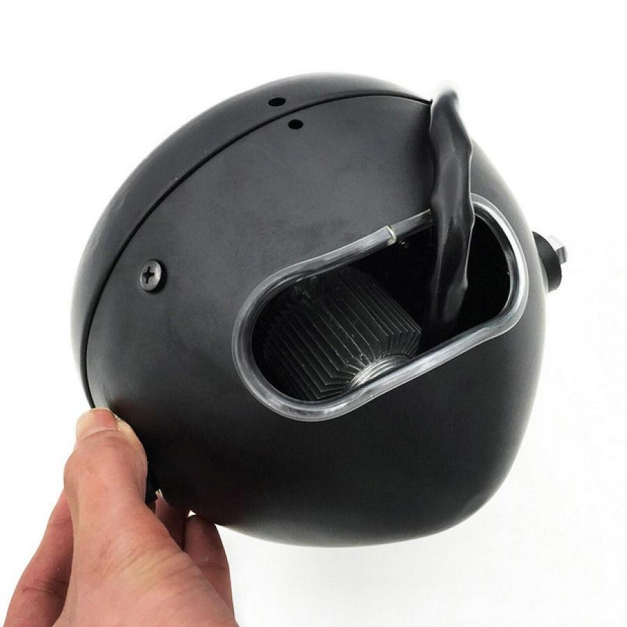 Image 3 - Motorcycle Headlight Cafe Racer Head Light Decorative Lights Modified Motorbiker Vintage Head Light With Bracket