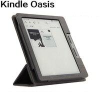 E-Book Cas Pour 2016 Amazon Kindle Oasis Ereader Livre 6 Pouce Smart PU En Cuir Wake-up Sommeil Stand De Protection Peau Stylus Comme Cadeau