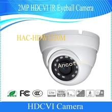 Free Shipping Original English DAHUA Security Camera CCTV 2MP HDCVI Eyeball Digital Video Camera IP67 without Logo HAC-HDW1220M
