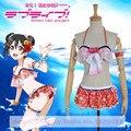 Anime Love live! Nico Yazawa Cosplay  Costume Swimsuit Awakening Summer swimwear Bikini Costume Lycra  S-XL Full set