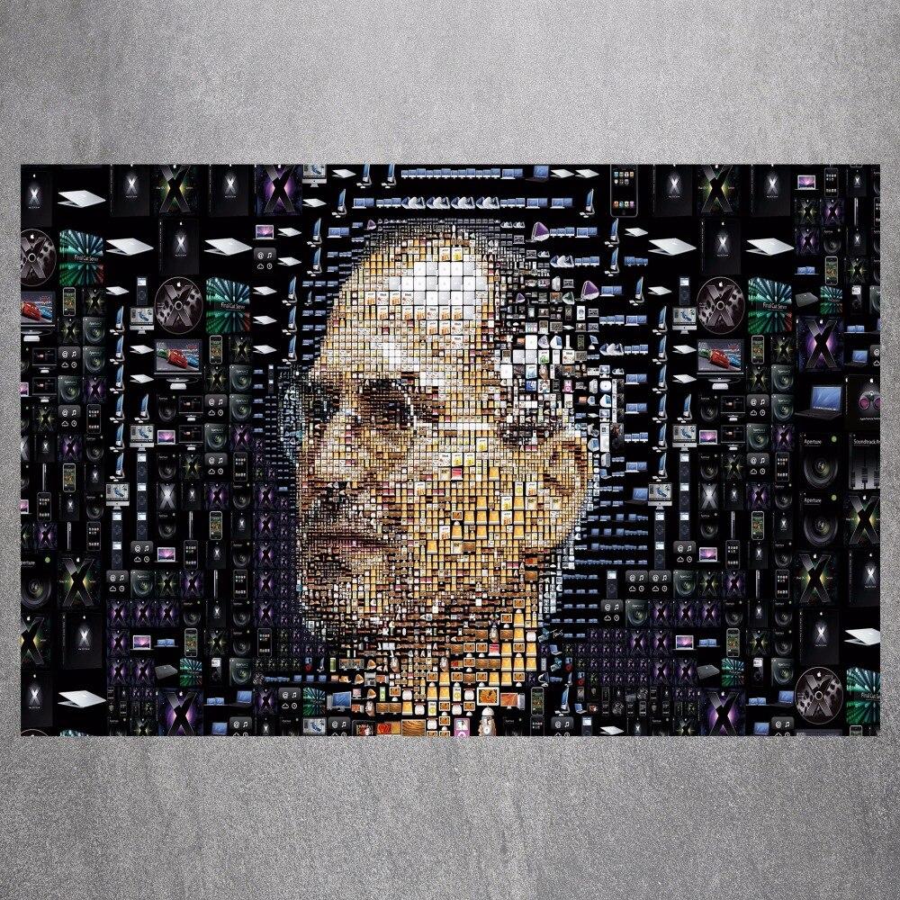 Home Decorating Jobs: Steve Jobs Digital Canvas Art Print Painting Poster Wall