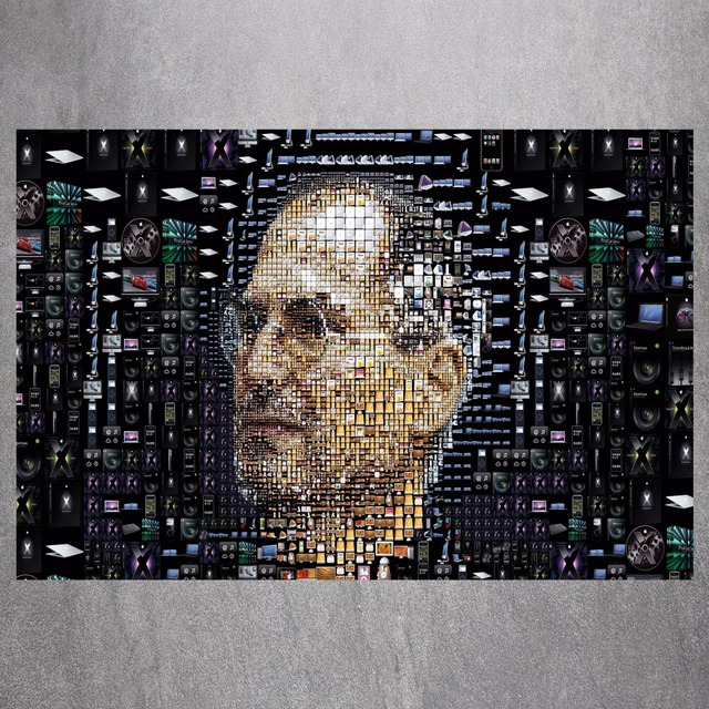 Steve Jobs Digital Canvas Art Print Painting Poster Wall Picture For Living Room Home Decorative Bedroom