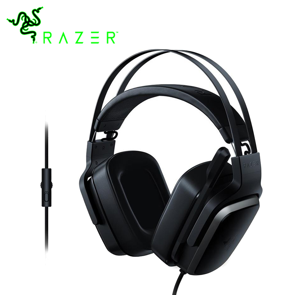лучшая цена Razer Tiamat 2.2 V2 Analog Gaming Headset 7.1 Virtual Surround Sound with Microphone and Drive-by-wire Headset Gamer Earphones