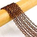 100 M / медь кабель цепь ссылка бронза цепь 4 x 3 мм