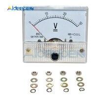 DC 0 V-30 V Voltmeter Amp Analog Volt Meter 85C1