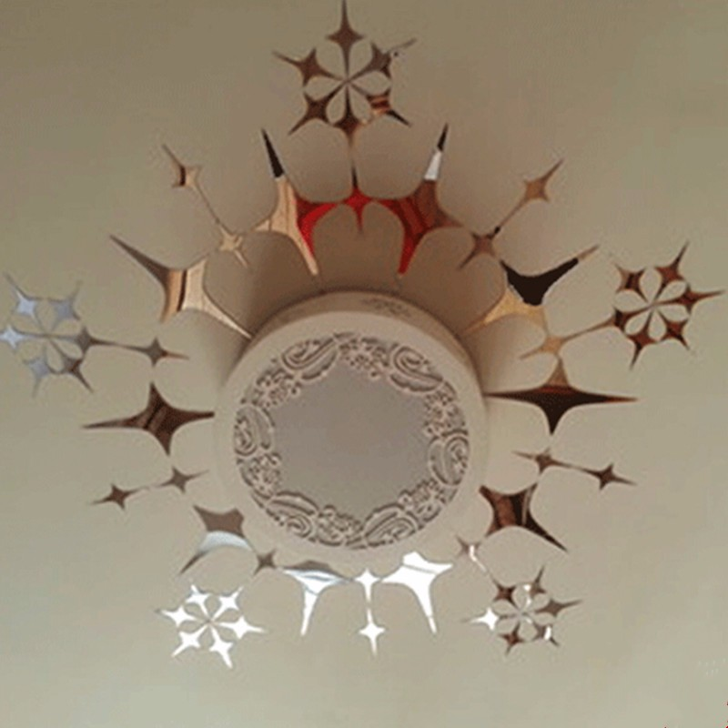 Star Mirror Wall Decor popular silver star wall decor-buy cheap silver star wall decor