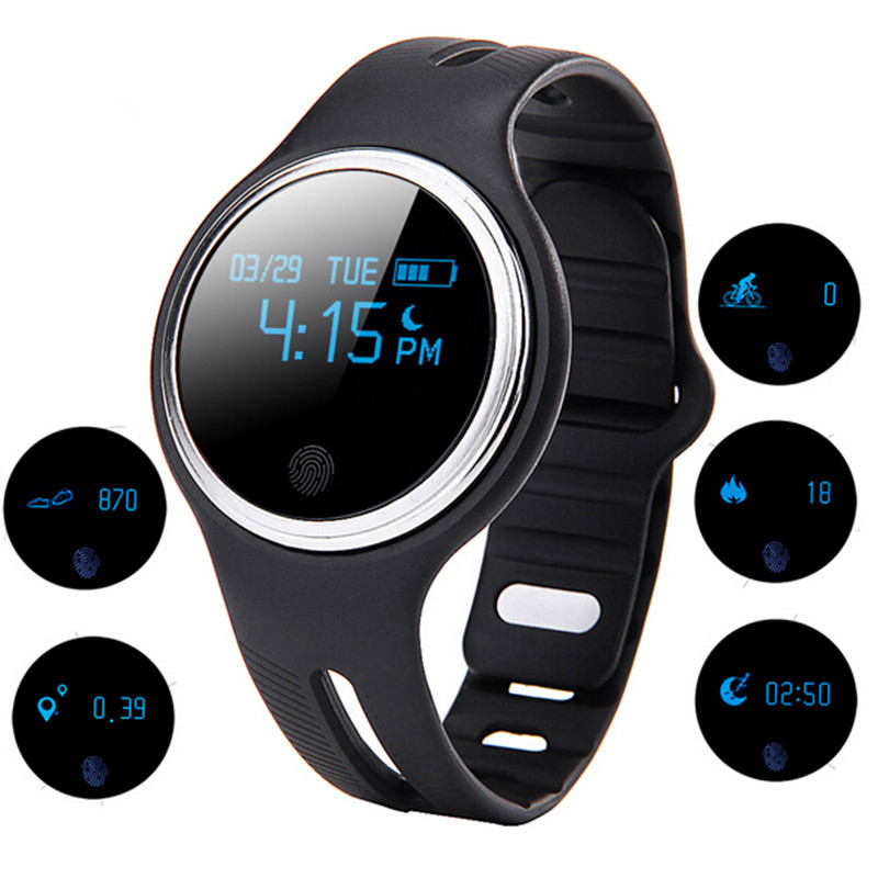 E07 Smart Band Waterproof Bluetooth Sports Smart Bracelet Fitness Tracker Call Reminder Smartband For Android IOS PK Mi Band