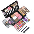 Moda 74 Cores Da Paleta Da Sombra Set 36 sombra de Olho + 28 Lip Gloss + 6 Blush + 4 Concealer Make up Kit cosméticos