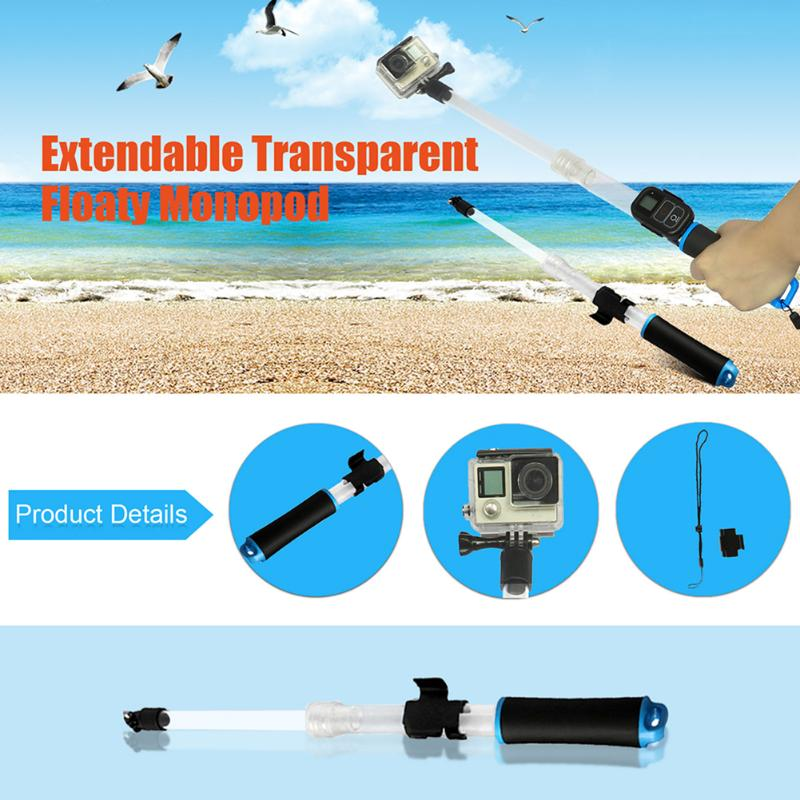 Wireless WiFi Remote Control Waterproof Selfie Stick for GoPro Hero ...