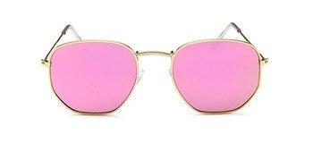 2021 Vintage Metal Women Sunglasses Luxury Brand Design Glasses Female Classic Driving Eyewear uv400 Oculos De Sol Masculino - C2