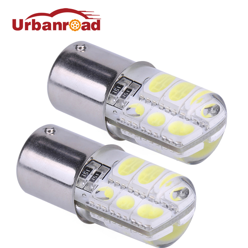 2pcs Car 1156 Ba15s p21w Led Parking Lamp Ba15s 1156 5050 SMD Red Brake Turn Signal Light Led Bulb Crystal Auto Styling 2x 12v 24v auto car led light ba15s 1156 p21w led 50 smd 50smd high quality turn signal light bulb turn lamp white yellow red