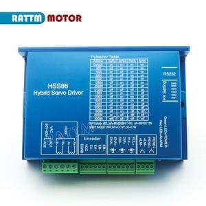 Image 5 - 1 ชุด Nema34 ปิด LOOP 12N.M Servo มอเตอร์ Stepper มอเตอร์ 6A 154 มม.และ HSS86 HYBRID Step Servo DRIVER 8A CNC Controller Kit